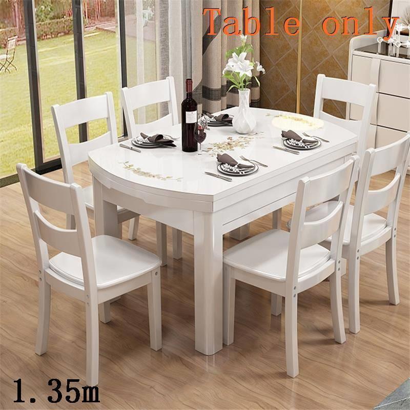 A langer tavolo juego comedor marmol eet tafel set comedores mueble ...