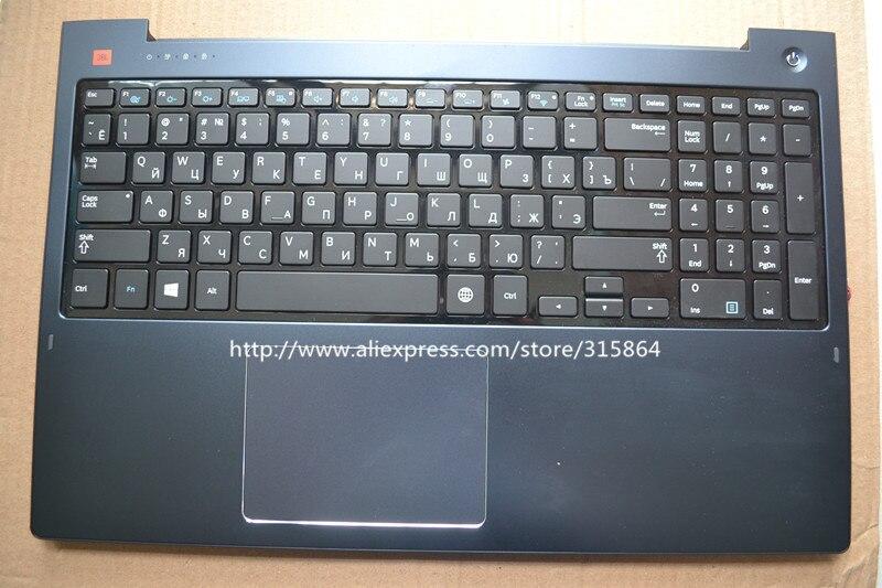 Nouveau clavier d'ordinateur portable de couleur grise russe avec dissipateur thermique pour samsung 570Z5E 580Z5E 670Z5E 680Z5E 671Z5E RU mise en page