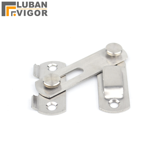 Thick stainless steel Sliding door hasp/plug/locksmall sizeEasy to  sc 1 st  AliExpress.com & Thick stainless steel Sliding door hasp/plug/locksmall sizeEasy to ...