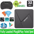 Novo Set Top Box Rockchip Dolamee RK3229 Quad-core 1G/8G Super-Mini Android Caixa De TV Streaming De Media Payer com WI-FI e KODI 16.1