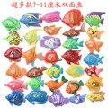 6 unids/lote de Aprendizaje y educación de juguete de pesca magnética viene outdoor fun & sports fish juguete de regalo para el bebé/niño GYH
