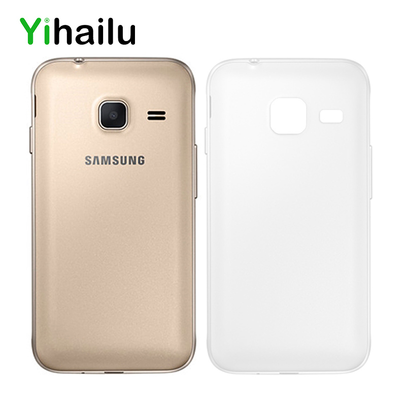 Case For Samsung Galaxy J1 Mini J105 Soft TPU Protect Camera Cover Transparent Clear Ultra Thin Silicone Phone Cases