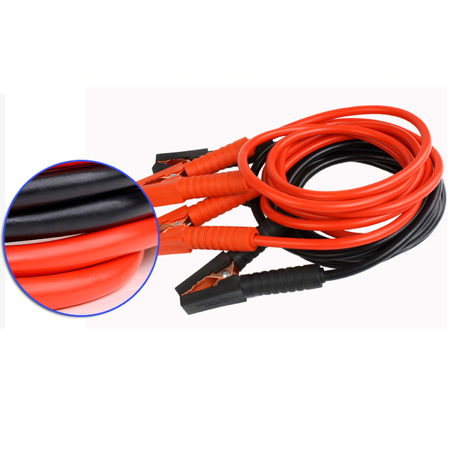 12V car battery cable 3M 1800A jump leads battery ignition wire
