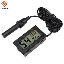 Цифровой гигрометр профессиональный мини термометр с ЖК дисплеем