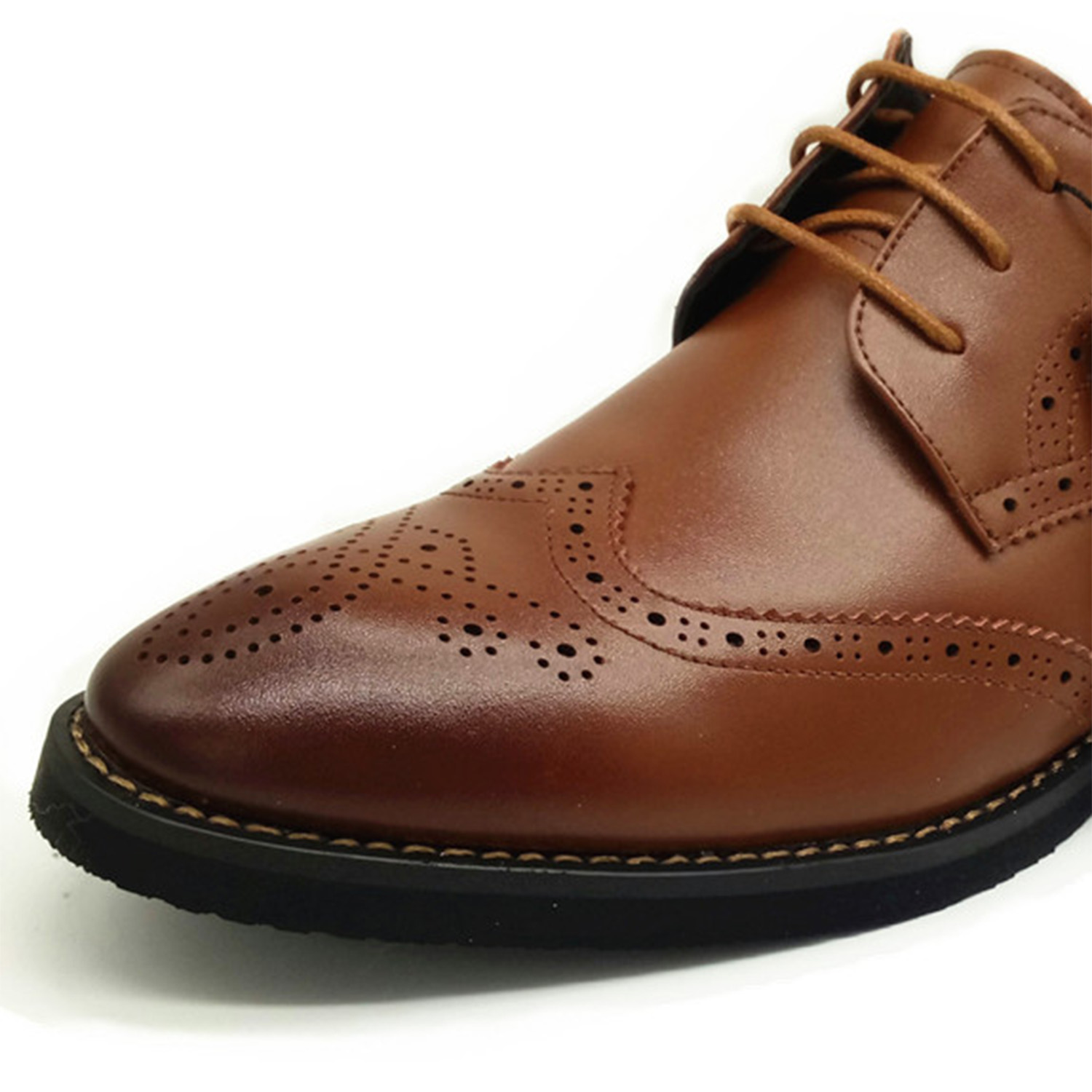 Luxury Design Oxford Business Men Shoes Genuine Leather High Quality - Men's Shoes - Photo 5