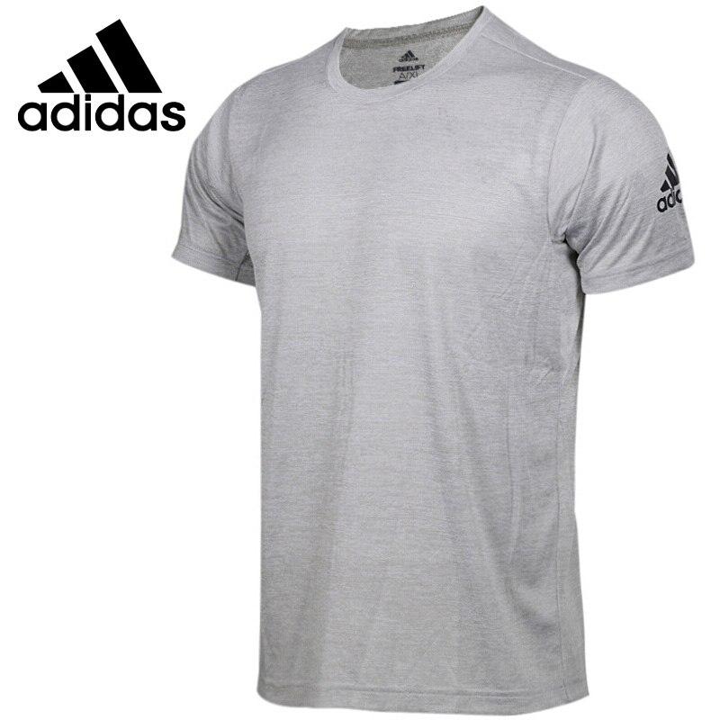 Original New Arrival 2018 Adidas FreeLift gradi Men s T shirts short sleeve Sportswear