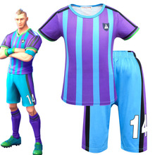 9b0d1bf19 Soccer Jersey Sports Costumes for Kids Clothes Football Kits for Girls Summer  Children s Suits Boys Clothing