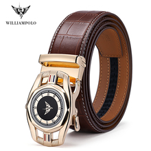 Williampolo Men Belt Male Genuine Leather Strap Belts For Me