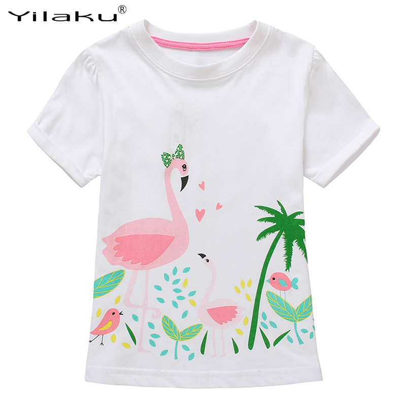 Baby girl t shirt 2017 fashion animal print girls cotton t for Leopard print shirts for toddlers