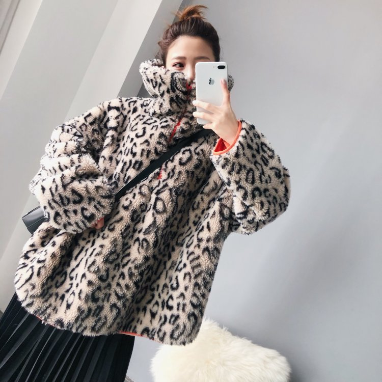 Autumn Winter Coat Women Sheep Shearing Real Fur Coat Women Pullover for Womens Clothing Abrigos Mujer Invierno 2019 YY737