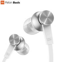 Original Xiaomi Pistão Edição Básica Fio Oblato Geração 3rd Serie do Fone de ouvido fone de Ouvido In Ear da liga Al Câmara Ergonômico