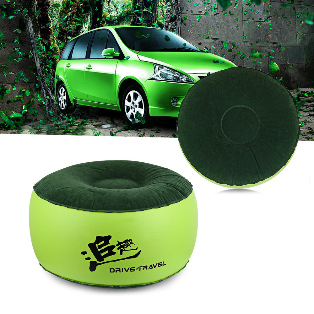 Drive Travel Universal Car Inflatable Stool Car Seat Cover With Gas Nozzle Safe PVC Car Interier Accessories Inflatable Stool ...