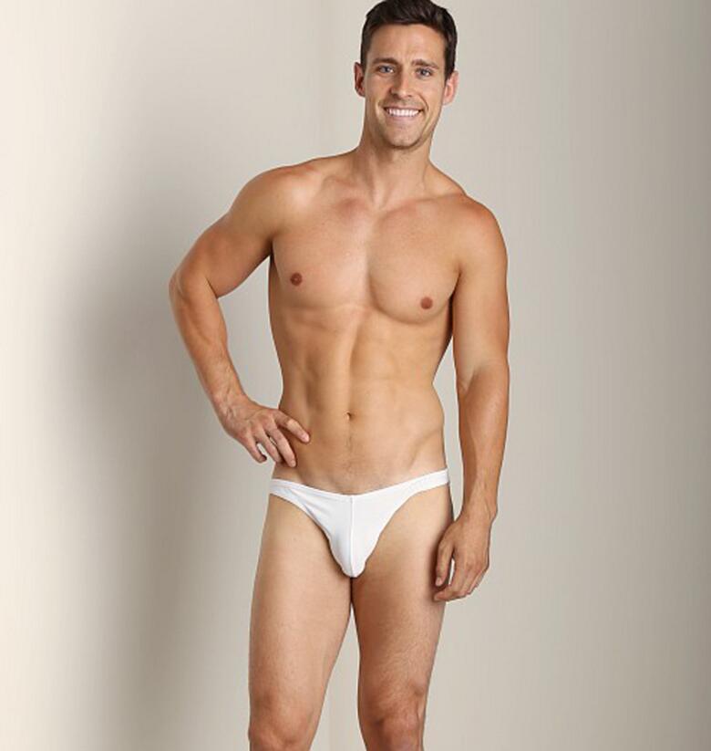 Free Shipping 2 Pieces Dark Gray Men's Underwear Sexy Briefs Sports Sexy Narrow Edge Bikini Private Customized BOYTHOR
