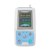 CE di chuyển/FDA Màn Hình LCD Ambulatory Blood Pressure Monitor + Tự Động 24 h BP đo lường Blood Pressure Monitor