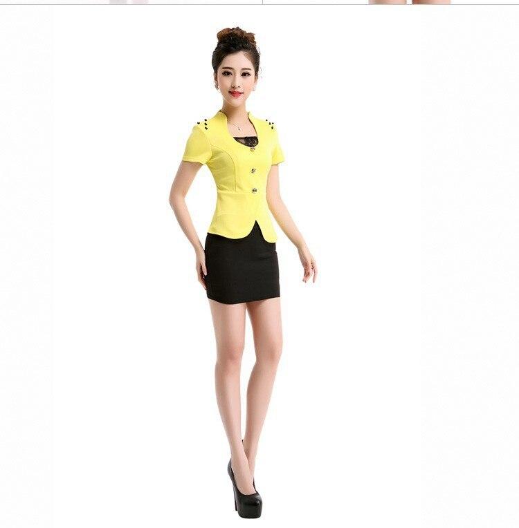 Korean Occupation Ol Slim Vest Skirt Suit Women S Two Piece Dress