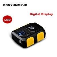 Hot Koop Digital Display Auto Tire Inflator 12 V Elektrische Auto Luchtcompressor Pomp LED Licht Digitale Opblaasbare Pomp