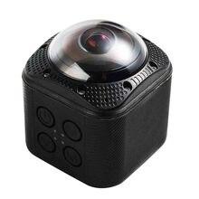 SOOCOO Cube360F 1080 P Full HD 360 Degrés Panorama Caméra Wifi 20 m Profondeur Imperméable À L'eau