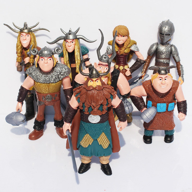 8pcsset how to train your dragon toys night fury toothless hiccup 8pcsset how to train your dragon toys night fury toothless hiccup astrid action figures ccuart Gallery