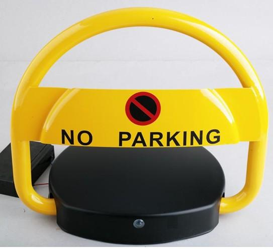 parking barrier /remote control parking space barrier / parking lot barrier withe solar interface