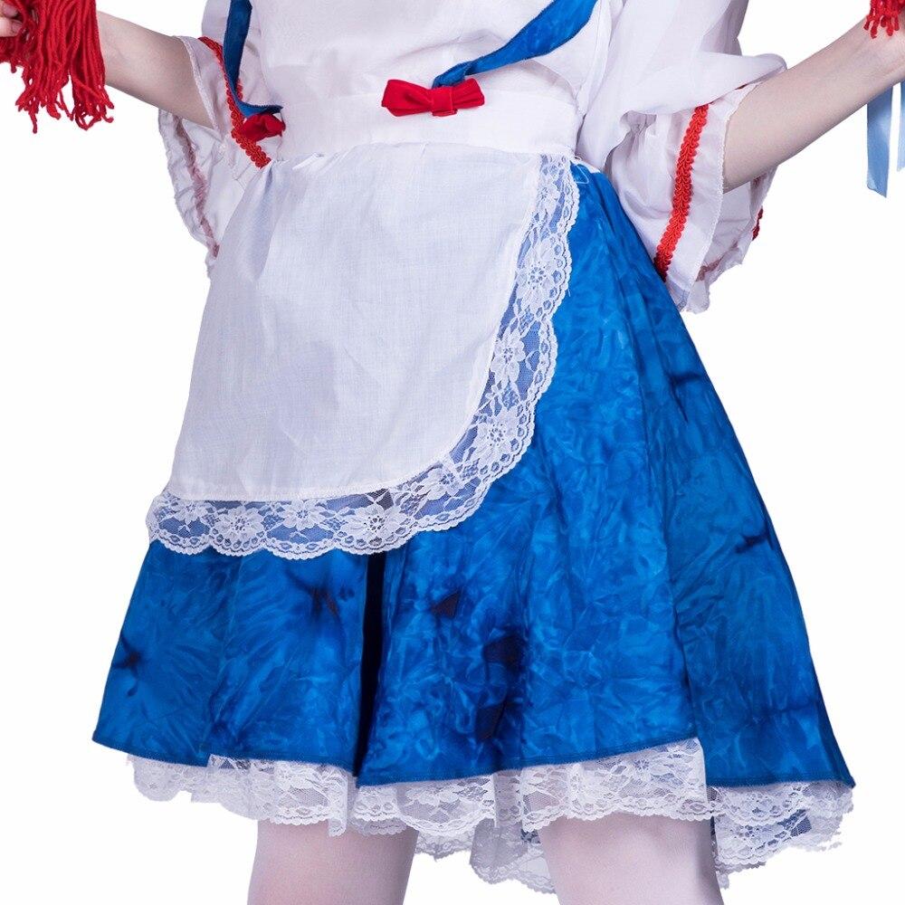 Frauen Sexy Girl Rag Doll Maid Kostüm Nette Cosplay Partei ...