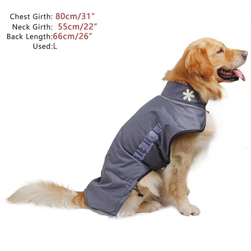 Dog Clothes Winter Warm Clothing Skiing Wear Snowsuit ...