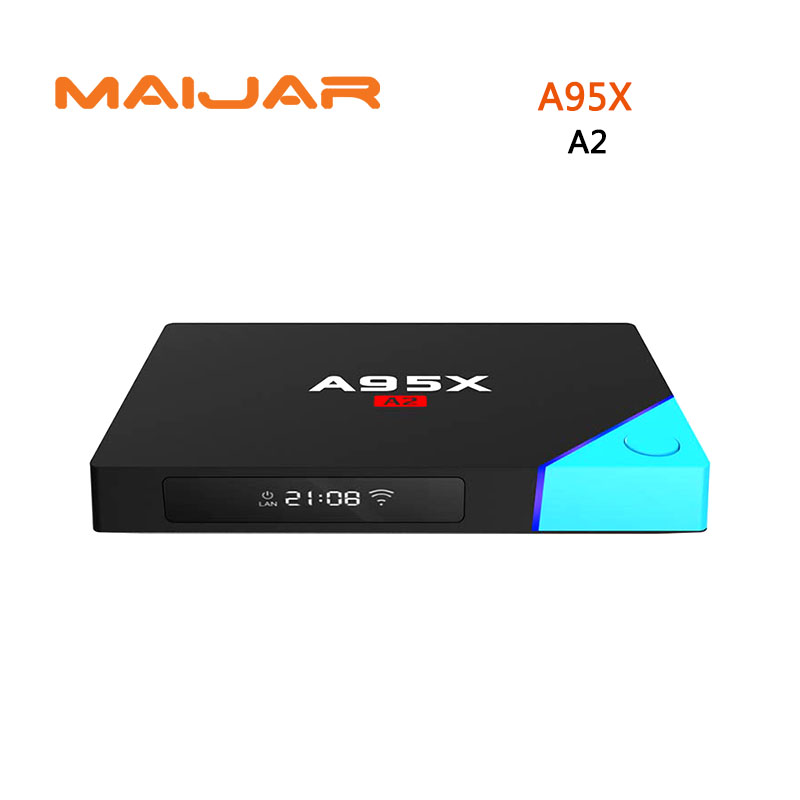 Smart Android Tv Box NEXBOX A95X A2 Android 6.0 Tv Box  Amlogic S912 Octa-core Network Set Top Box 4K  H.265 Blueteeth Keyboard himedia m3 quad core android tv box home tv network player 3d 4k uhd set top box free shipping