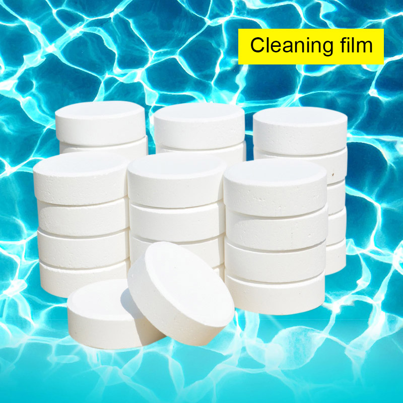 20g Swimming Pools Chlorine Tablets for SPA Hot Tubs Cleaning Tool MYDING