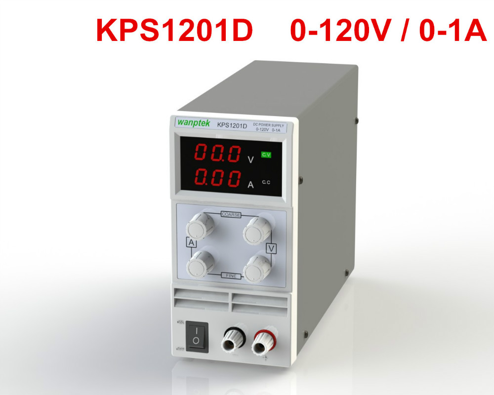 ФОТО Newest mini switching DC power supply KPS1201D 120V 1A adjustable DC regulated power supply Digital 0.1V 0.01A