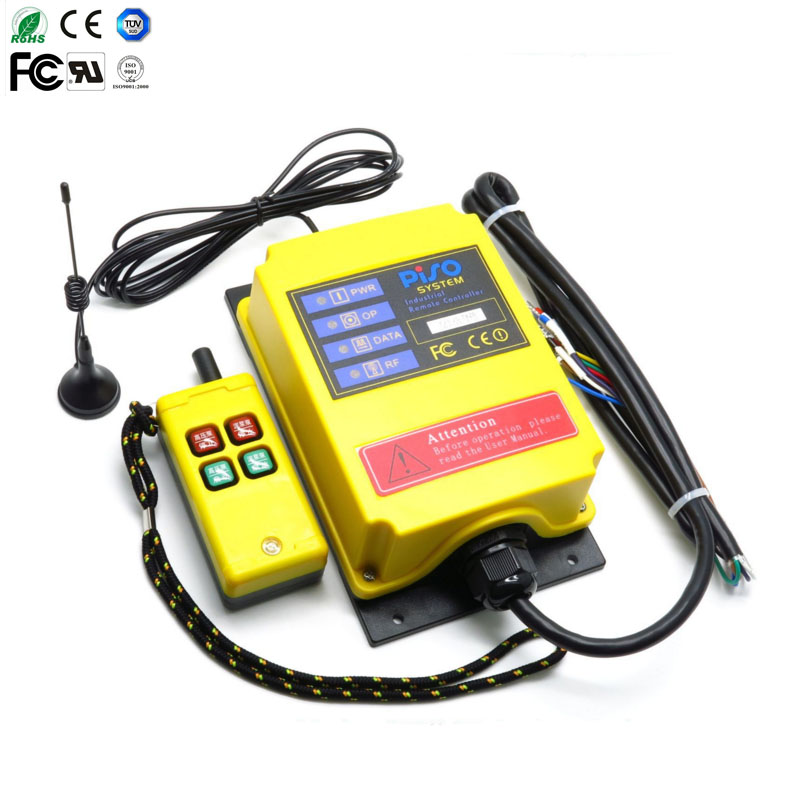 1 transmitter + 1 receive Mud pump for 500 meters long distance industrial wireless remote control Industrial remote controller