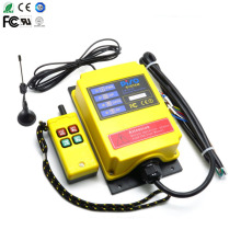 Mud pump for 500 meters long-distance industrial wireless remote control Industrial controller 1 transmitter + receiver