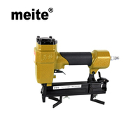MEITE V1015B 10 3MM Crown Pneumatic Air Stapler For V Nail Air Powerful Nail Gun Air