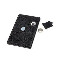Карманный таймер кухонный кабинет отдыха небольшой Магнит черный вспомогательное оборудование таймер инструмент может CSV