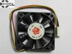 SXDOOL chłodzenia wentylator 5010 50mm 5 cm CH5012CBS-A (E) DC 12 V 0.12A 3Pin chłodnicy