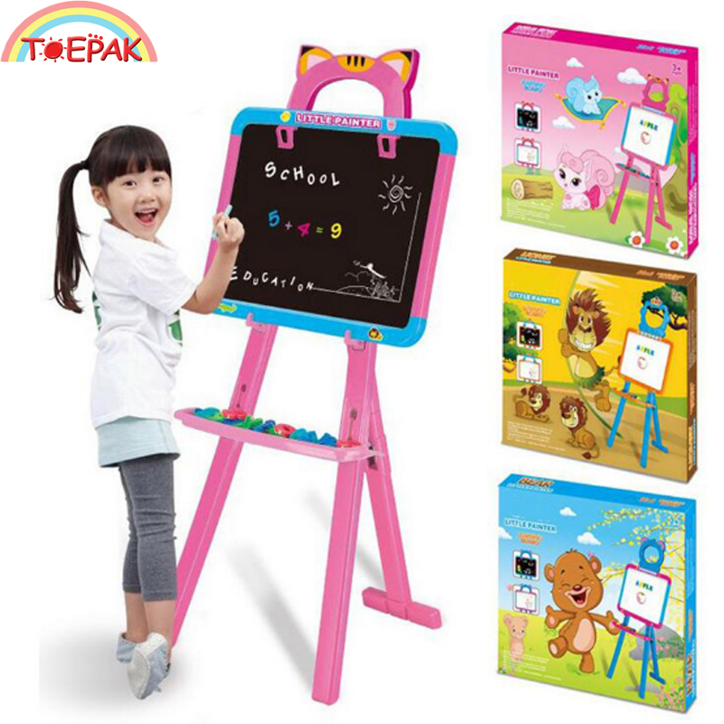 Children's Large 94CM Writing Board Black White With Pen Magnetic Drawing Board Drawing Board Graffiti Board Early Education