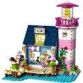 Amigos Heartlake Faro Modelo de Bloques de Construcción de Ladrillo Juguetes Compatible con Legoe Amigos Para Niñas