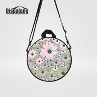 Dispalang Hot Kids Kindergarten Backpack Flower Printing Round School Bag For Girls Children S Fashion Mini