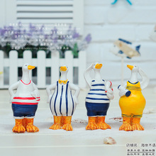 Home decoration child real marine wind navy ducks