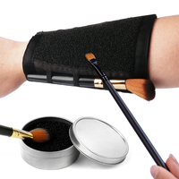Armband Makeup Brush Clean Arm Sponge Dry Cleaner Eyeshadow Cleaning Cosmetic Arm Remover Color Dedicated Washing