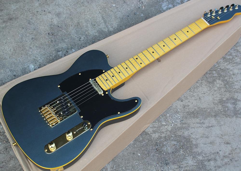 buy wholesale custom matte black tele electric guitar with black pickguard. Black Bedroom Furniture Sets. Home Design Ideas
