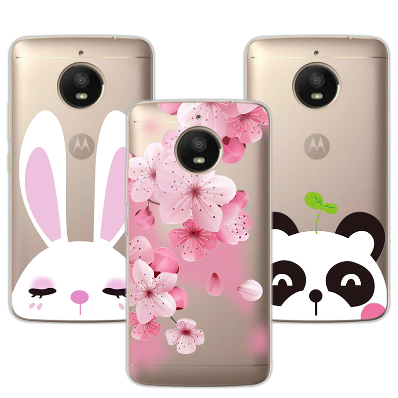 Flamingo 3D Relief Lace Case Fundas For Motorola Moto E4 Plus Soft TPU Cute Cat Cover Coque For Moto E 4 Plus Case Capa 5.5""