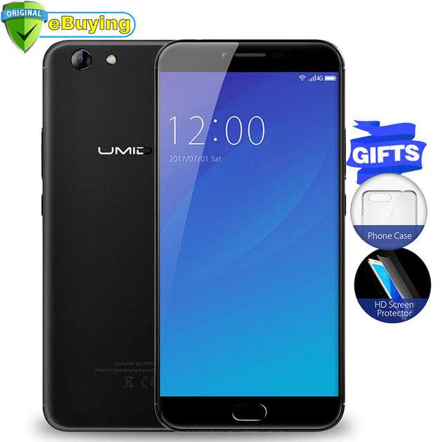 UMIDIGI C NOTE 2 Android 7.0 Smartphone MTK6750 Octa Core 5.5inch Screen 4GB+64GB 4000mAh Fingerprint Unlocked 4G Mobile Phone