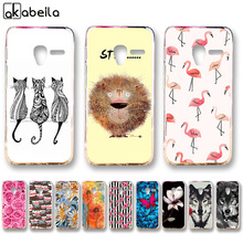 AKABEILA Soft TPU Bumper Phone Cases For Alcatel OneTouch Pixi 3 4.5 inch (only