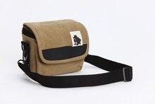 Tuval kamera çantası durumda Fujifilm X T100 X A20 X A10 X A5 X A3 X T30 X T20 X T10 X E3 X E2 X100F X100T X PRO 2 X A2 x A1 X M1