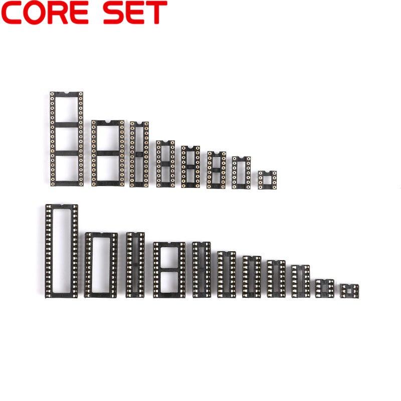 aliexpress com   buy 10pcs dip ic socket connector adaptor solder type sockets 6  8  14  16  18  20