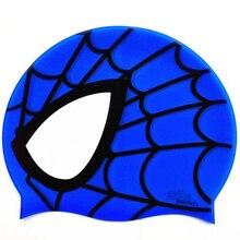 Spiderman Printed Swimming Cap
