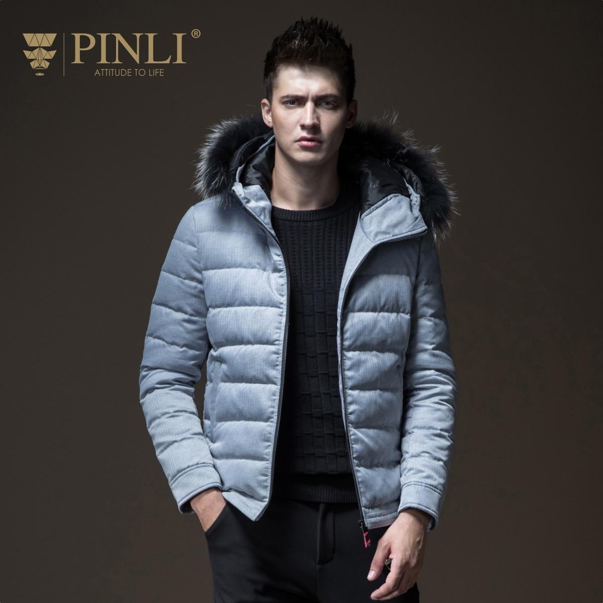 241b4c997 2019 Chaquetas Hombre Winter Jackets Mens Real Casacos Pinli Pin Li ...