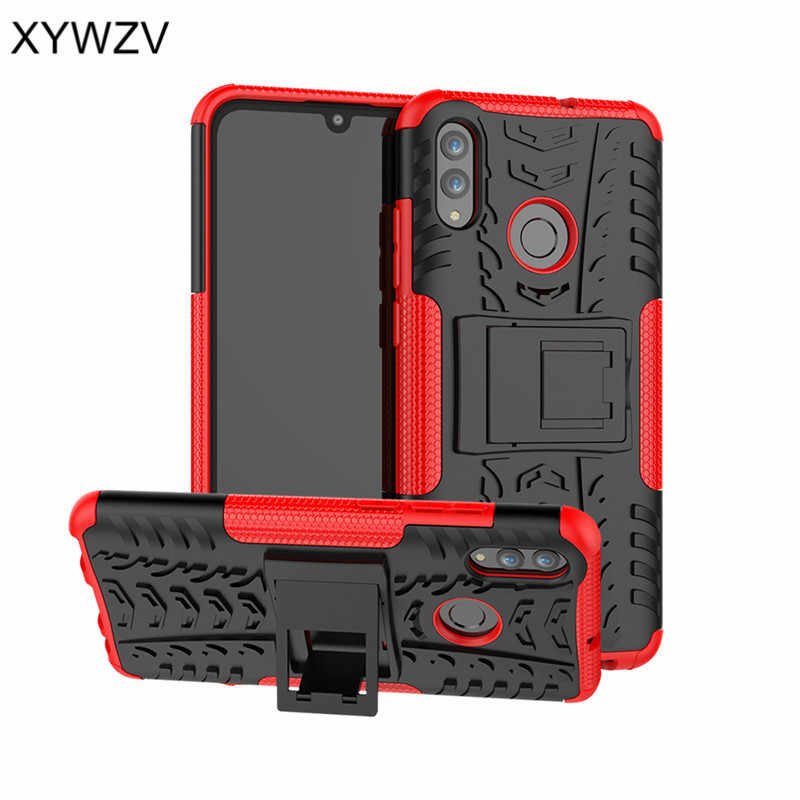 Huawei P Smart 2019 Case Shockproof Armor Rubber Hard Case For Huawei P Smart 2019 Cover Huawei P Smart 2019 Kickstand Fundas ^