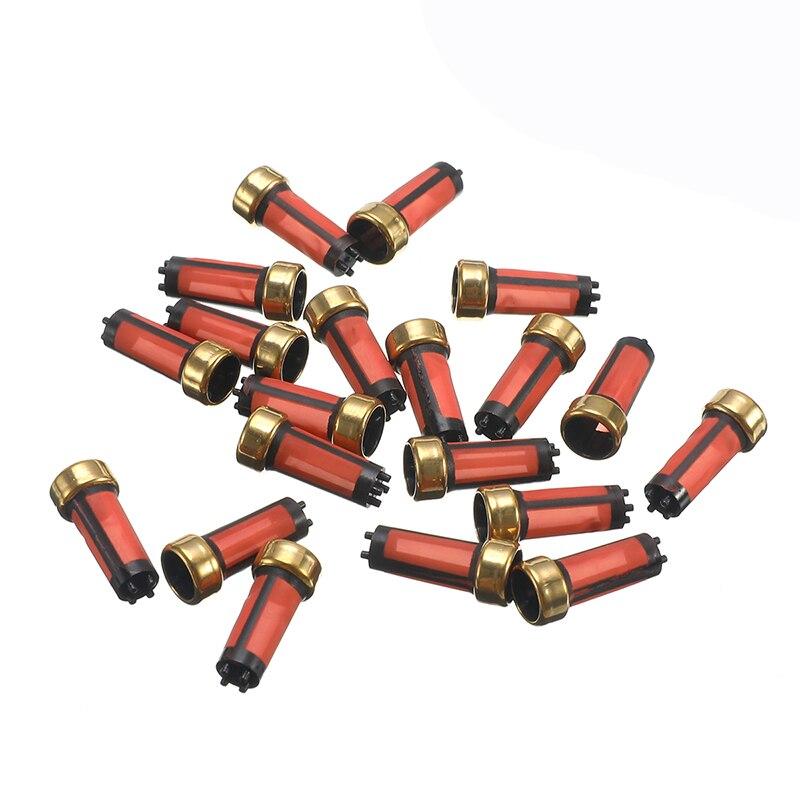 20x yüksek kaliteli araç yakıt enjektörü mikro filtre yedek parça MD619962 Mitsubishi için