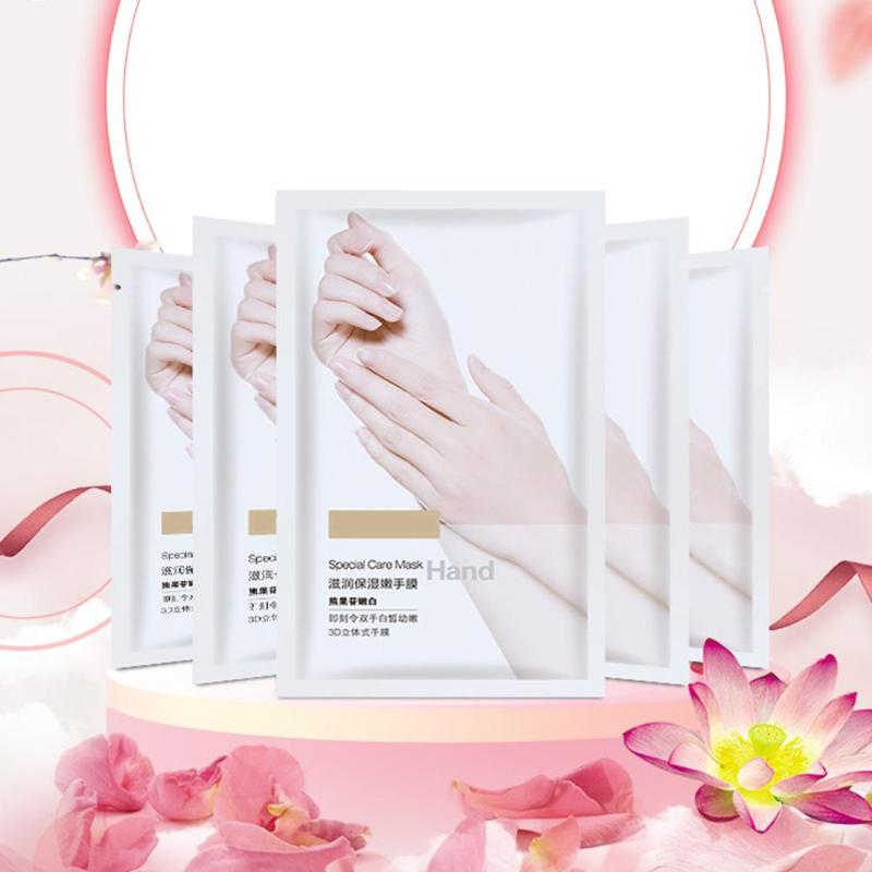 New Arrival Hand Mask Whitening Exfoliating Moisturizing Hand Mask Gloves Soften Smooth Wax Peel Hand Care Remove Dead Skin Care