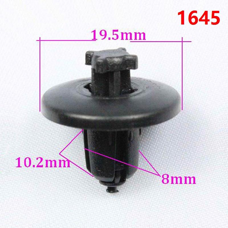 ке ли ми 1645 авто бамперов выстроились кнопки застёжки зажим для Пежо 307 408 Sega в С5 пуш - тип застежка Прага фиксаж